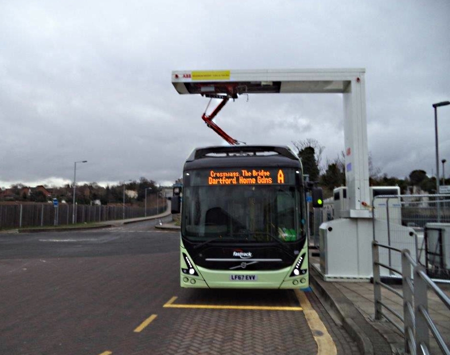 maxi haulage volvo electric bus