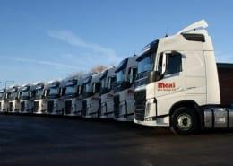 Maxi Haulage trucks